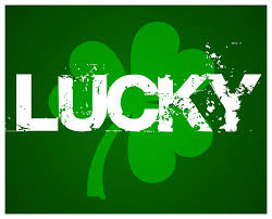 It's your lucky day today.