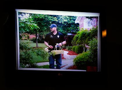 狙撃の名手 法廷でモニター画面に映し出された在りし日のカイル Tom Fox-The Dallas Morning News-Pool-Reuters