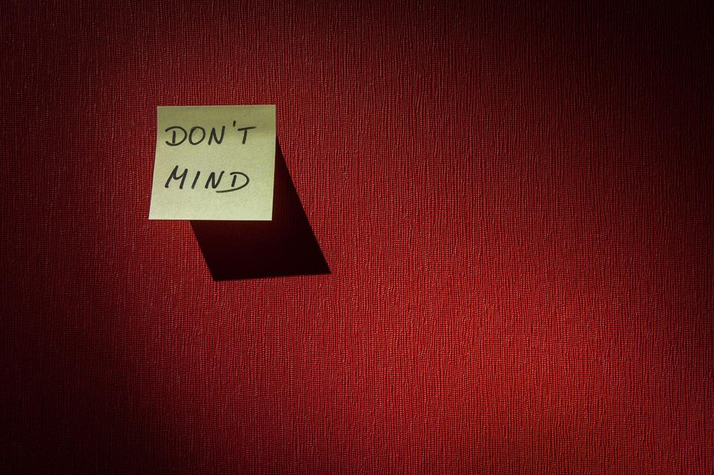 『I don't mind.』と『I don't care.』の違い