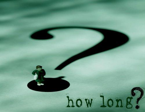 『どれくらい行ってたの(ですか)?』